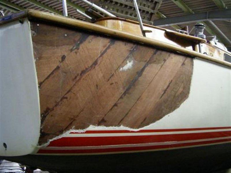 Mahagoni holzboot  Holzboot Mahagoni-Außenhaut Sanierung | spezialbootsbau.de