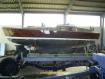 Holzboot Mahagoni Außenhaut-Sanierung