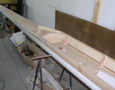 Ruderboot Umbau