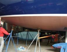 Unterwasserschiff geändert