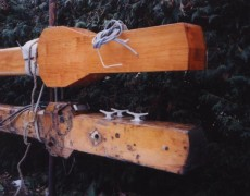 Holzmast- und Spierenbau