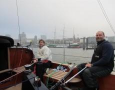 Helgoland -Hamburg – H2H Challenge: ……     …fast geschafft !