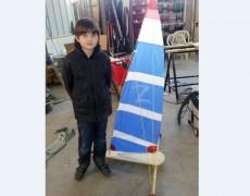Workshop: Papa und ich bauen einen Parkplatzsegler